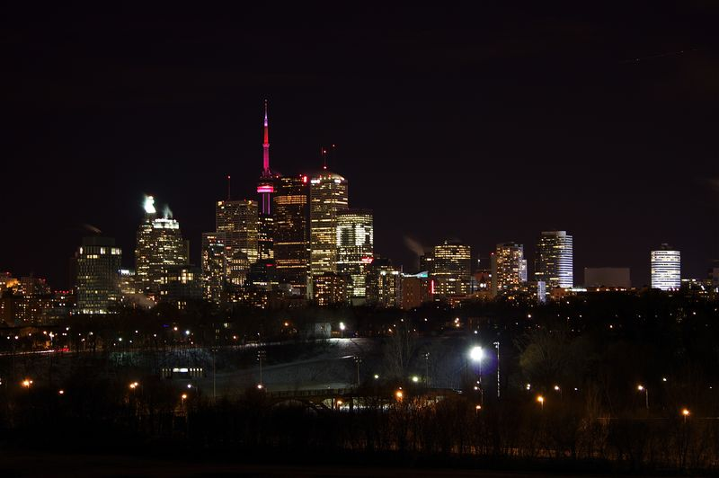 Riverdale Park, Toronto, 2011, winter