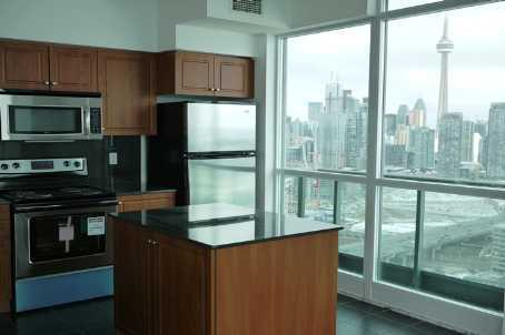 215 Fort York PH 3704 View of CN Tower from Kitchen