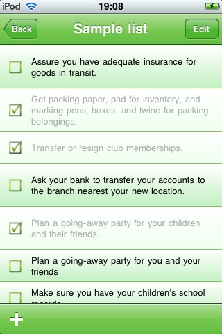 Move Planner Screen Shot