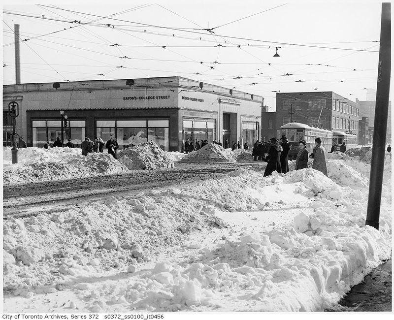 Eaton's at College Street 1944 Toronto Ontario