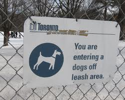 City Of Toronto: Off Leash Dog Parks