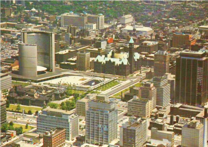 Downtown in the 1960s