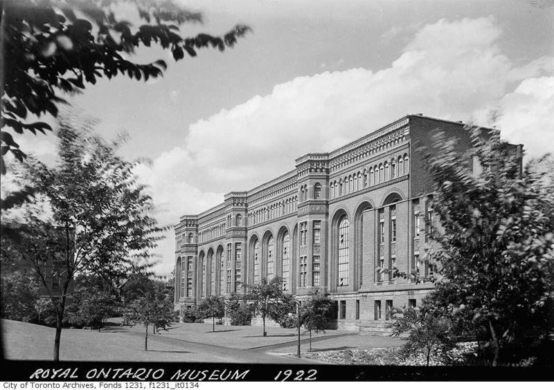 Royal Ontario Museaum 1922